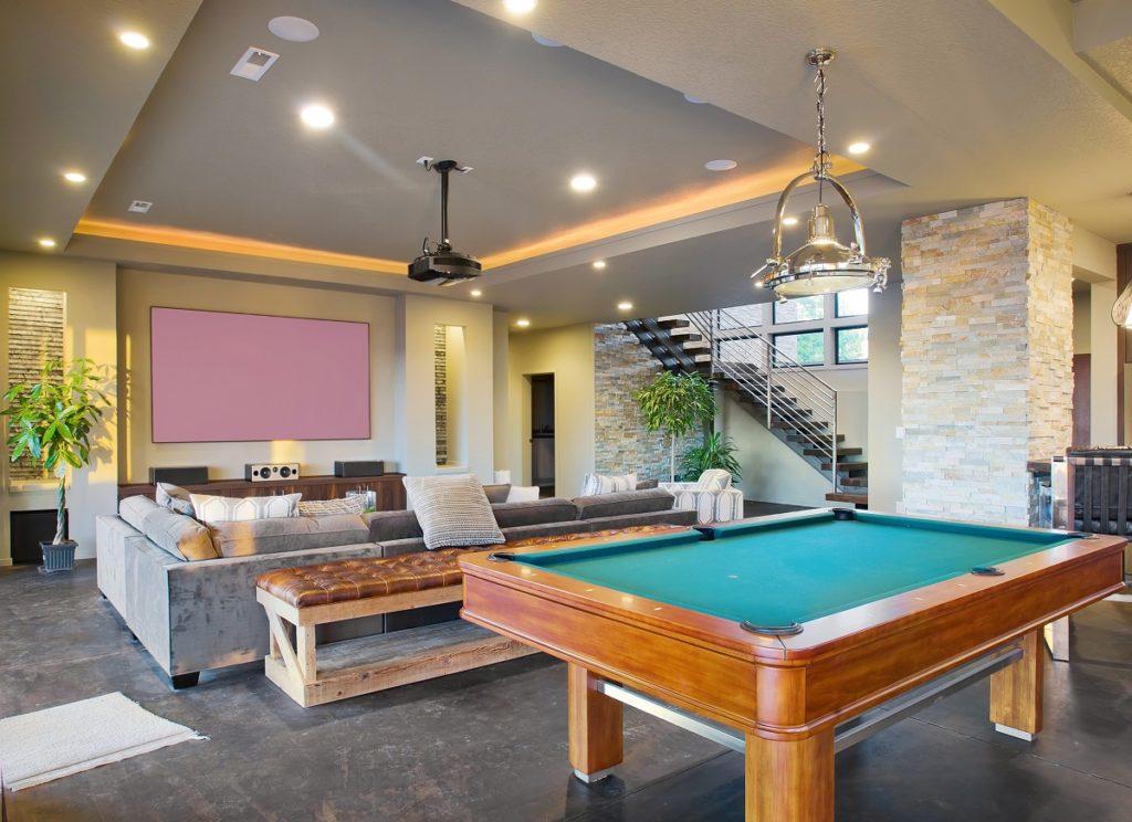 Good living room lighting