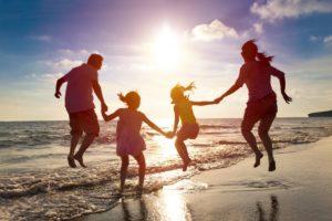 family vacation beach