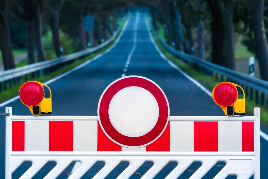 closed road concept